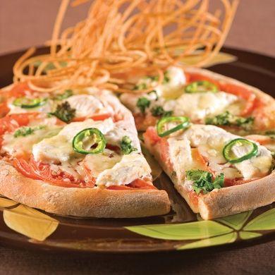 Pizza thaï - Soupers de semaine - Recettes 5-15 - Recettes express 5/15 - Pratico Pratiques