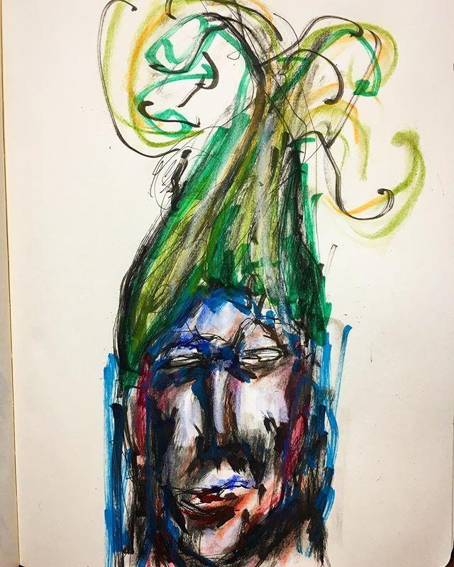 adaichiz今日の一枚【盛り】  #絵 #芸術 #アート #アートワーク #イラスト #らくがき #スケッチ #モレスキン #アーティスト #絵師 #妄想 #大智 #art #artwork #illustration #artistic #artist #drawing #sketch #painting #creative #character #moleskine #Daichi2017/11/08 22:57:06