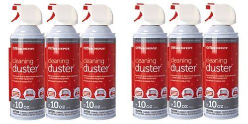 Office Depot Cleaning Duster, 10 Oz., Pack Of 3, OD101523 (PACK OF 6)