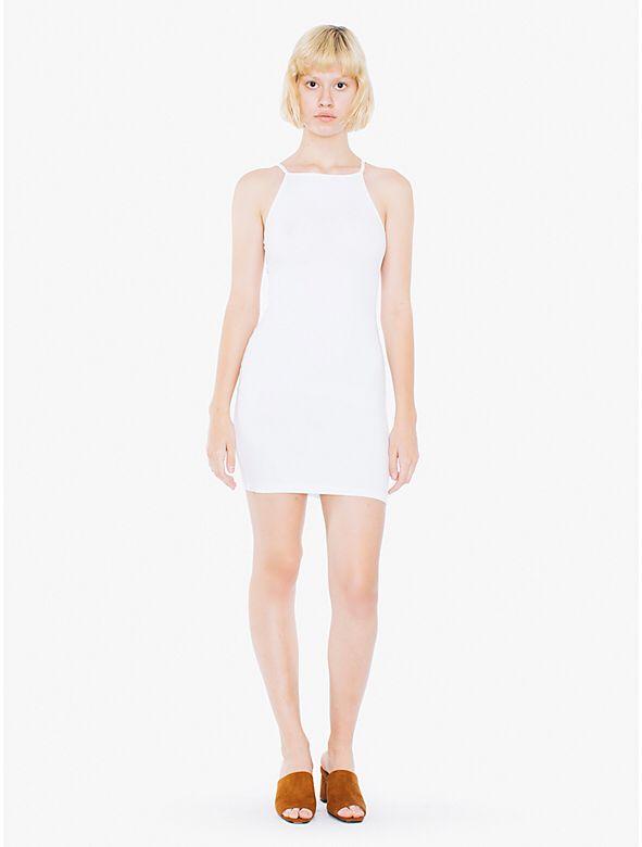 Square Neck Tank Mini Dress from American Apparel $38,00
