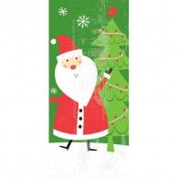 Cello Bag Large Santa Pkt20 $6.95  A378568