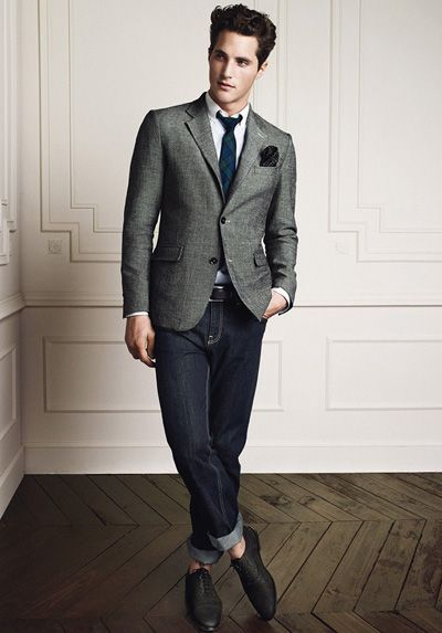 Monsieur's guide to Men's Smart Casual-HE-Mango-Spring-2012-15a