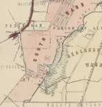 1890s map of St.Peters brickpits and surrounds
