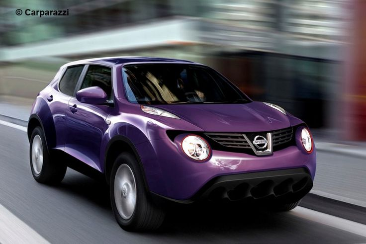 Nissan Juke in PURPLE!