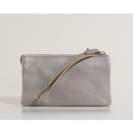 Ready for party with this silver clutch by Maanii!