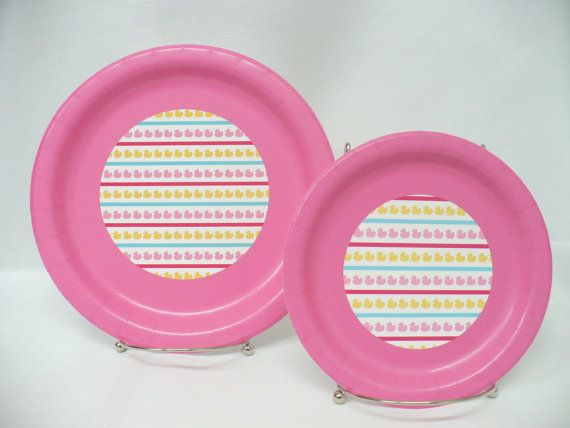 Please feel free to contact me if you have any other questions.    Rubber ducky, youre the one! These PRECIOUS rubber ducky/duck paper plates