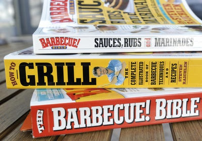chad mckinney uses these bbq and grilling cookbooks to