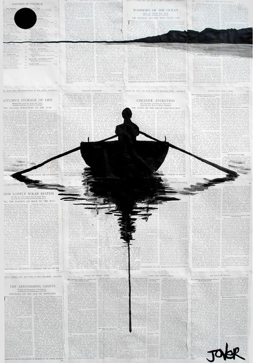 marluchy:      wasbella102:  By Loui Jover; Pen and Ink  Drawing a simple plan