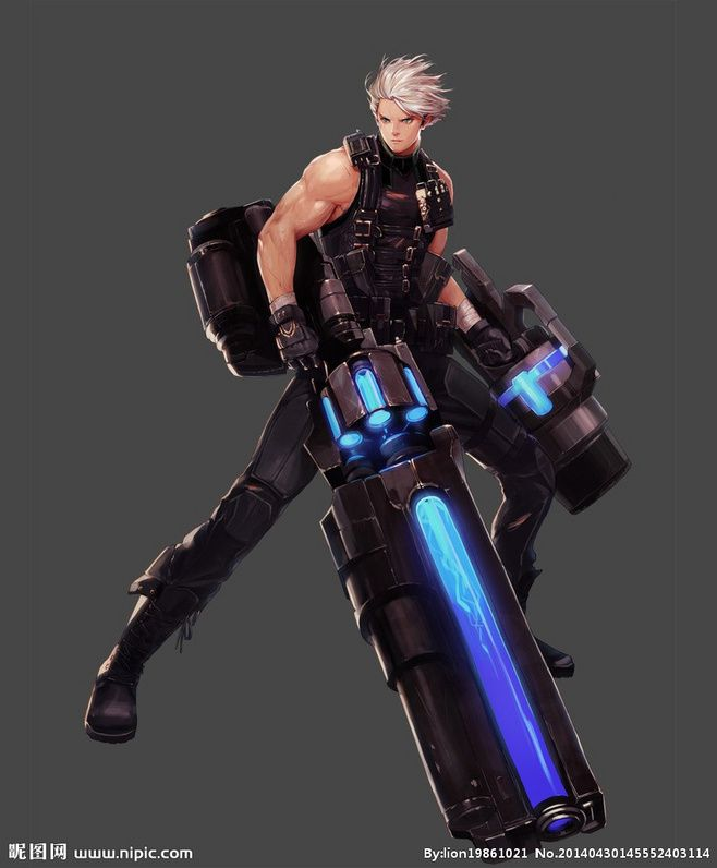 Interesting gun design