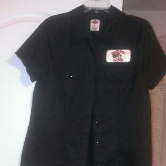 Broken spoke saloon top Black top  NO TRADE FOR THIS TOP Tops