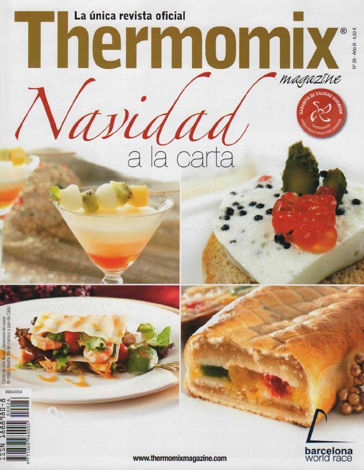 Revista thermomix nº26 navidad a la carta