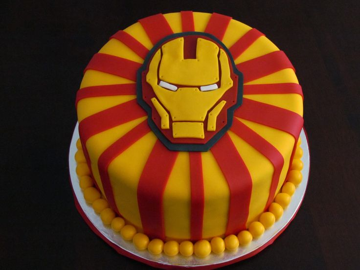 Iron man Cake by www.allthatfrost.com  Hunter's Groom's cake?