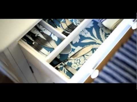 How to Create A Wallpaper Drawer Liner by Farrow & Ball