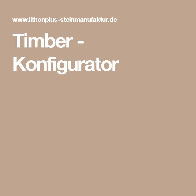 Timber - Konfigurator