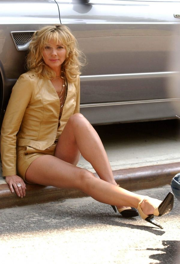 Nude cattrall naked kim