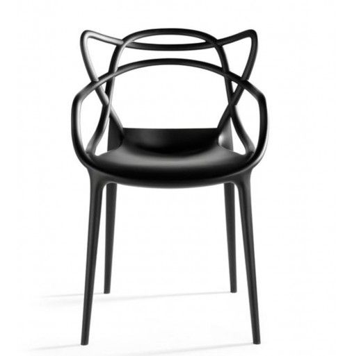 """On sale through 10.27.13, 20% off! Does this chair give you deja vu? Here's why: The """"Series 7"""" by Arne Jacobsen, the """"Tulip Armchair"""" by Eero Saarinen and the """"Eiffel Chair"""" by Charles Eames interweave their unmistakable silhouettes into a sinuous hybrid - See more at: http://www.designpublic.com/kartell-masters-chair-set-of-two#sthash.ZocuCtpb.dpuf"""