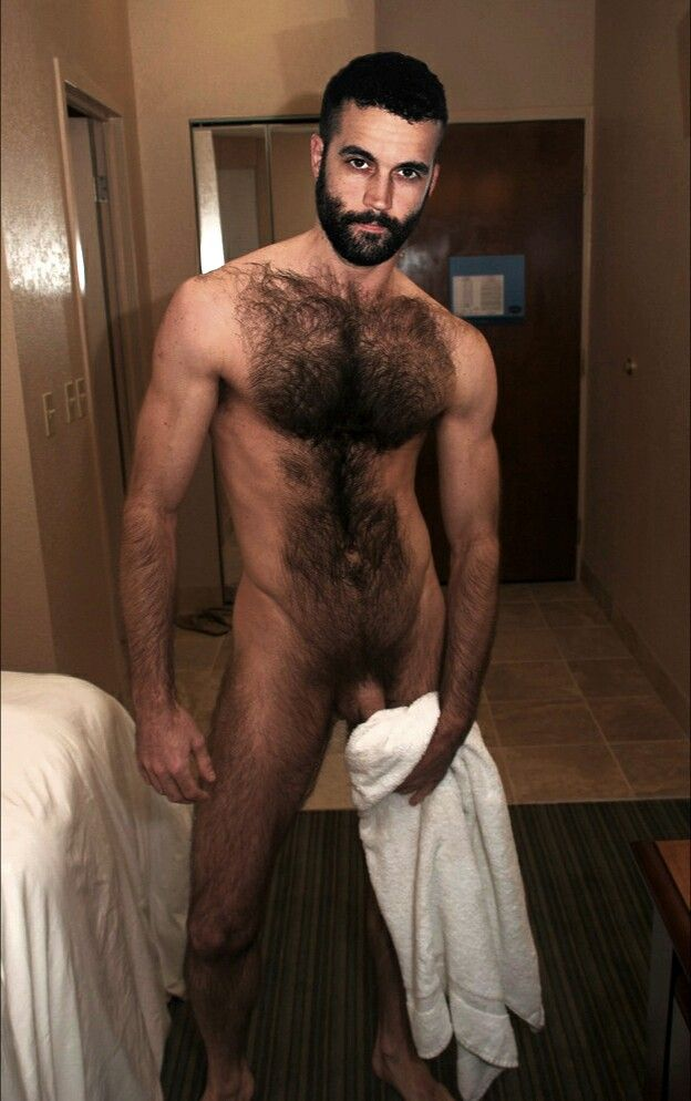 Hairy Sexy hunk babe