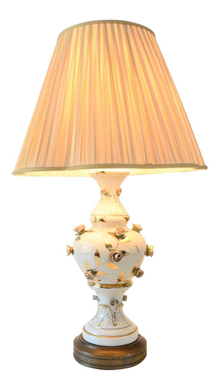 Best 25 victorian table lamps ideas on pinterest victorian lamp antique victorian table lamp with rose motif geotapseo Image collections