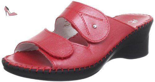 HHC, Mules Femme, Rouge (Rosso 70), 42 EUHans Herrmann Collection