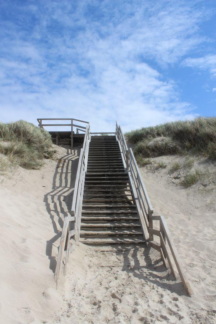 Strand, Sylt, Treppe
