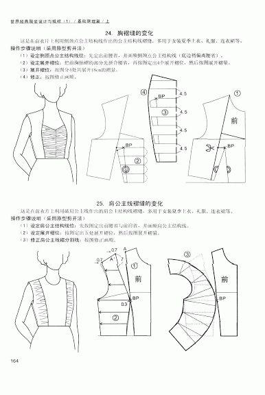 Chinese method of pattern making- Darts on a bodice - SSvetLanaV - Picasa Web Album