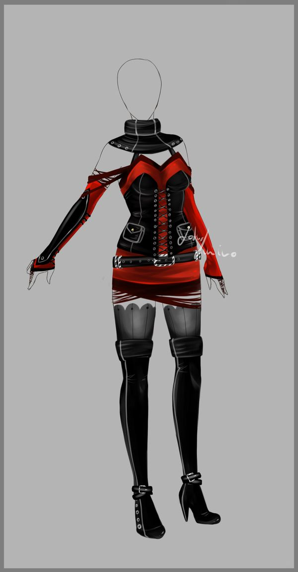 Outfit design - 93 - closed by LotusLumino on DeviantArt