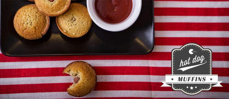 Πεντανόστιμα Hot Dog muffins