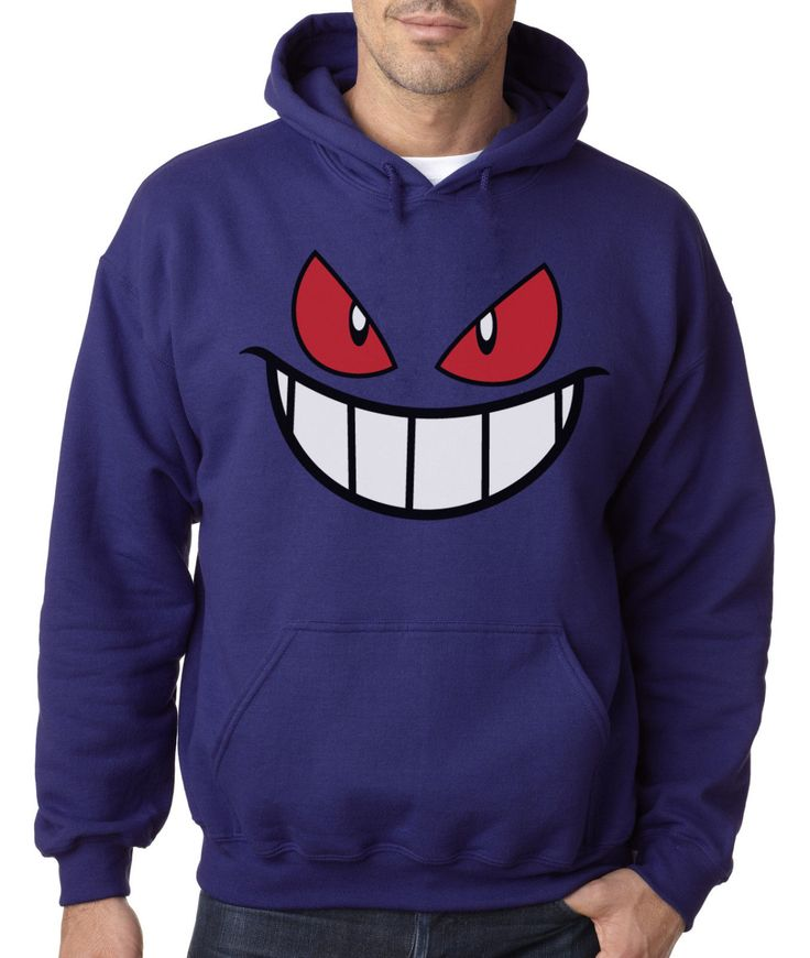 Gengar Hoodie - Pokemon Merchandise