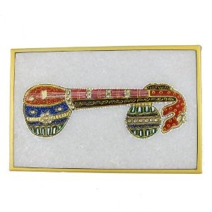 Arts India Embossed Miniature Painting of Indian Music Instruments on Marble Plate (Kitchen)  http://documentaries.me.uk/other.php?p=B0069LG4ZO  B0069LG4ZO