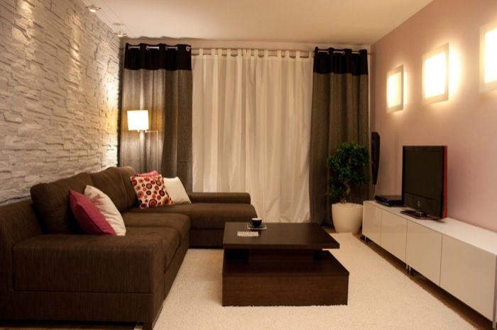 nowoczesny salon w małym mieszkaniu - Szukaj w Google