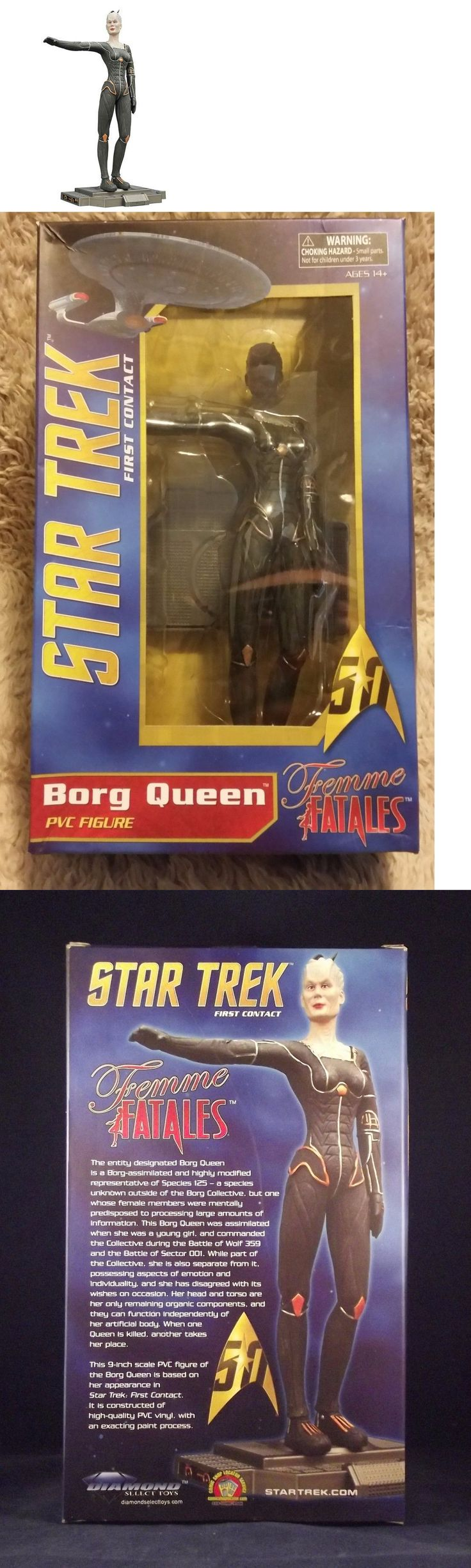 Fantasy 175693: Femme Fatales ~ Star Trek - Borg Queen ~ 9 Pvc Statue By Diamond Select Toys -> BUY IT NOW ONLY: $64.99 on eBay!