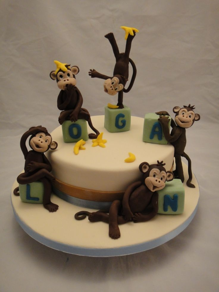 1000+ Images About Monkey Cakes On Pinterest