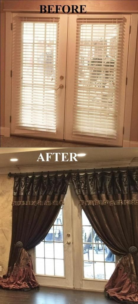 It is as simple as this: BEFORE - AFTER! . Window Treatment Sales Event! 20% OFF!!! September 1-15, 2016 . http://reilly-chanceliving.com/collections/window-treatment