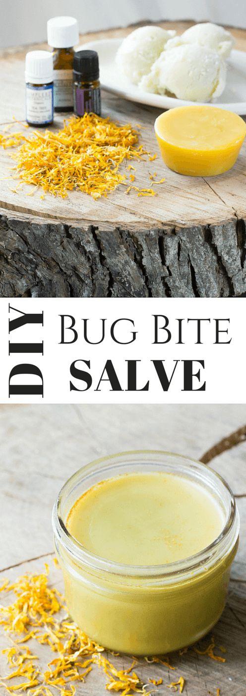 DIY Bug Bite Salve | wickedspatula.com