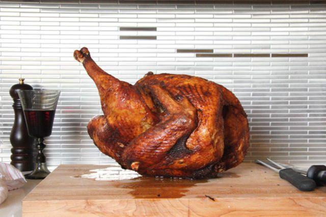 A classic deep-fried turkey with Southern rub recipe.