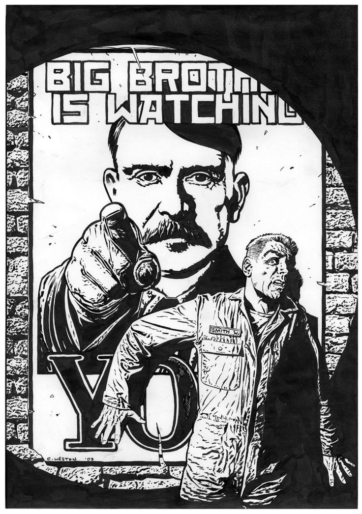 Winston Smith was watched by surveillance cameras. Today how are we tracked? Is that a worry to us?