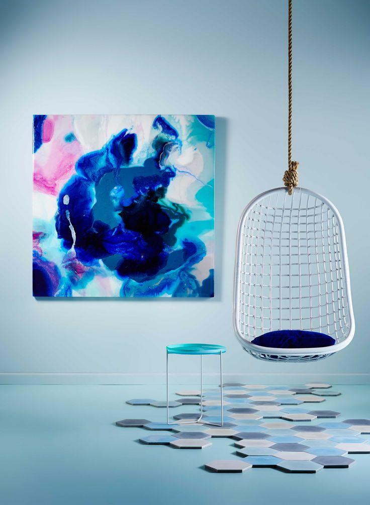 An artwork can make or break a room, says Australian artist Megan Weston