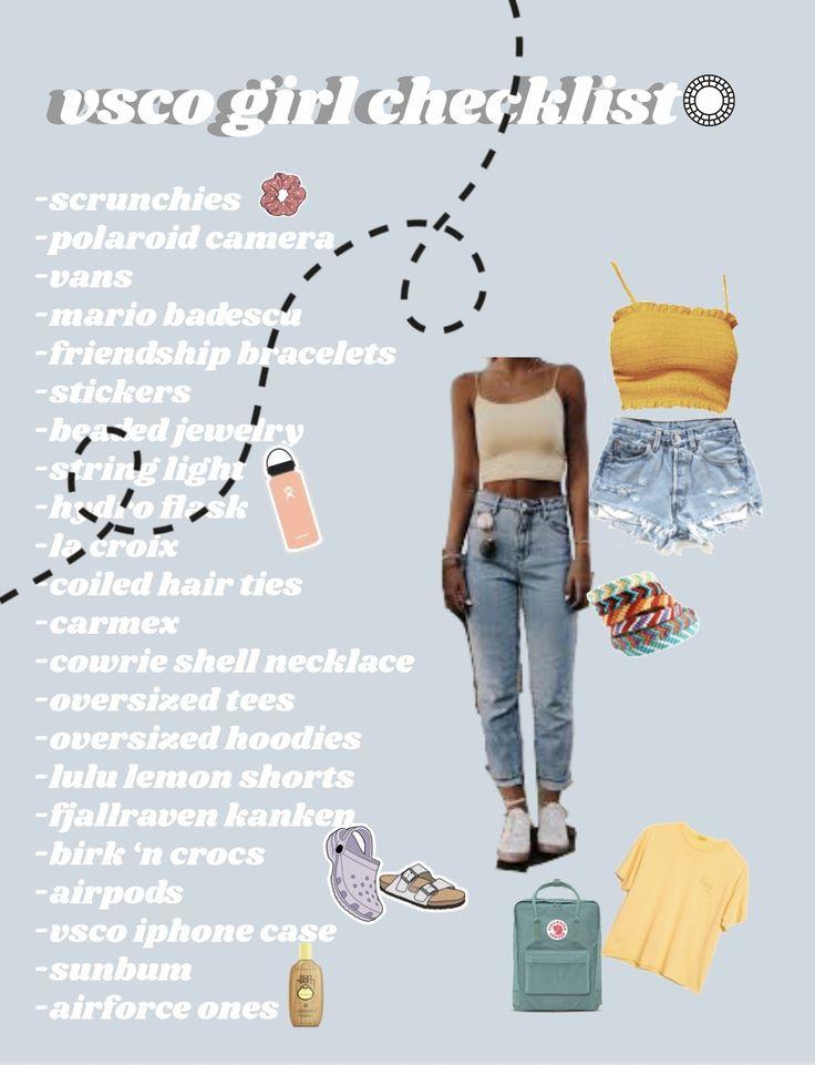 How To Be A VSCO Girl (a Checklist