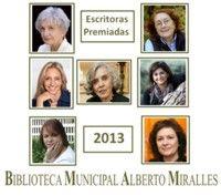 ESCRITORAS PREMIADAS en 2013. http://www.elche.es/media/tinyimages/file/GU%C3%8DA_DE_LECTURA._ESCRITORAS_PREMIADAS_2013_web.pdf