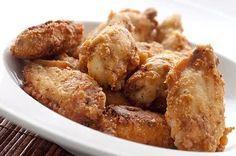 Τραγανές φτερούγες κοτόπουλου