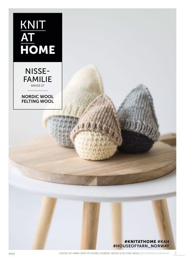 15-17 NISSEFAMILIE | free knitting pattern | diy Christmas | knitted Christmas | crocheted Christmas