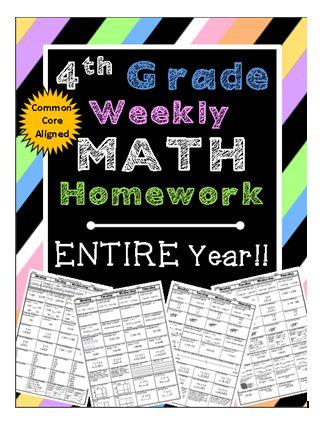 4th Grade Math Help