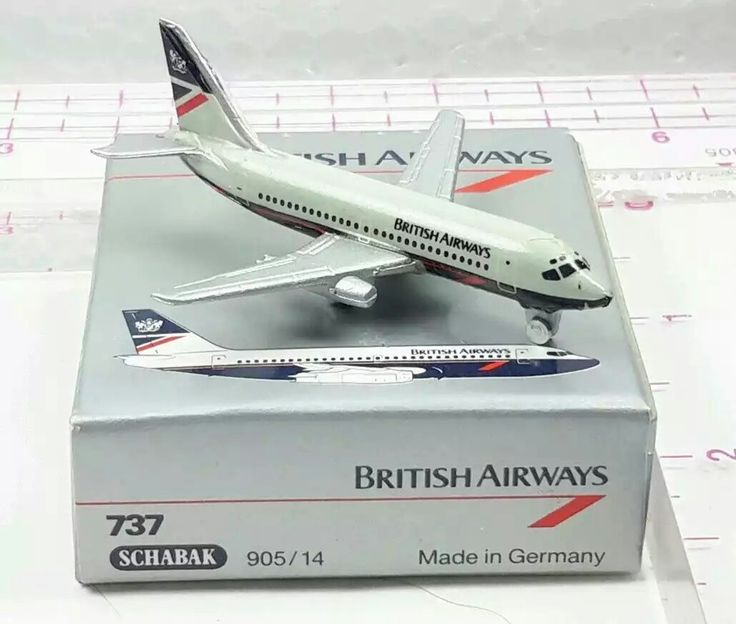 Schabak 1/600 BRITISH AIRWAYS Boeing 737