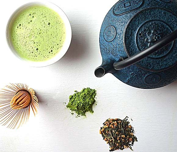 Macrobiotic Green Teas ~ Potential mood enhancers, immunity and metabolism boosters ~ Matcha and Genmaicha tea