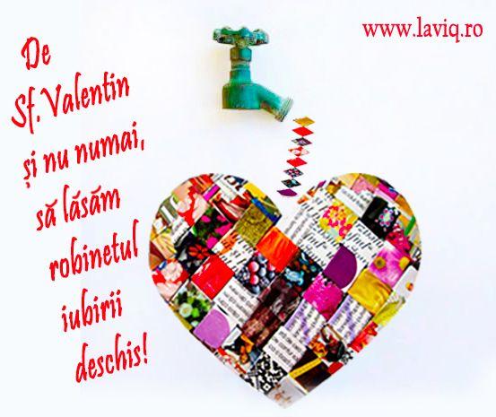 Iubire...dragoste...romantism...culoare in viata noastra :) Sa ne bucuram de Sf.Valentin si nu numai...  www.laviq.ro https://www.facebook.com/pages/LaviQ/206808016028814