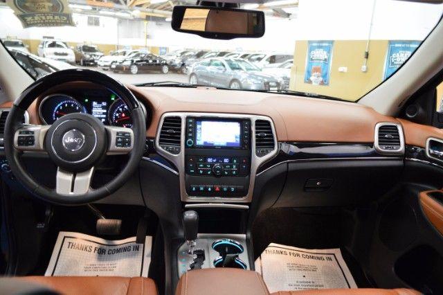 2012 Jeep Grand Cherokee Overland Summit 4x4 Hemi Only 37k Miles