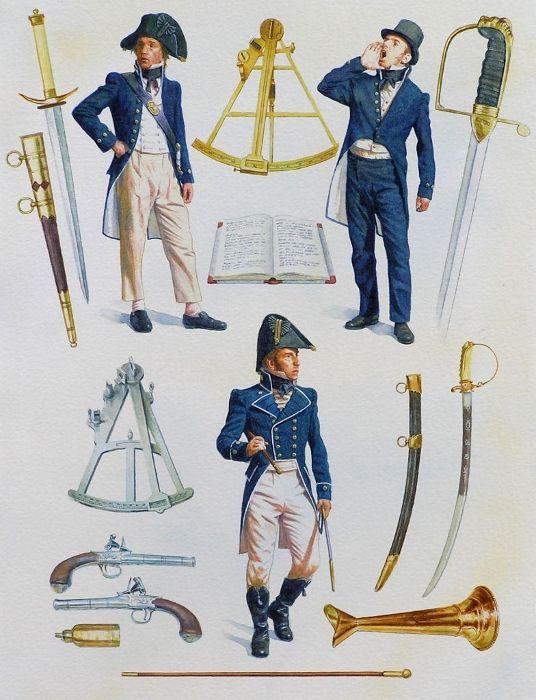 Lieutenant & Midshipmen (1797-1812)