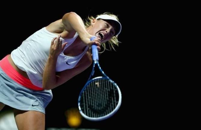 With a Double Fault Maria Sharapova is Out of Singapore! Serena Williams Closes as World No.1