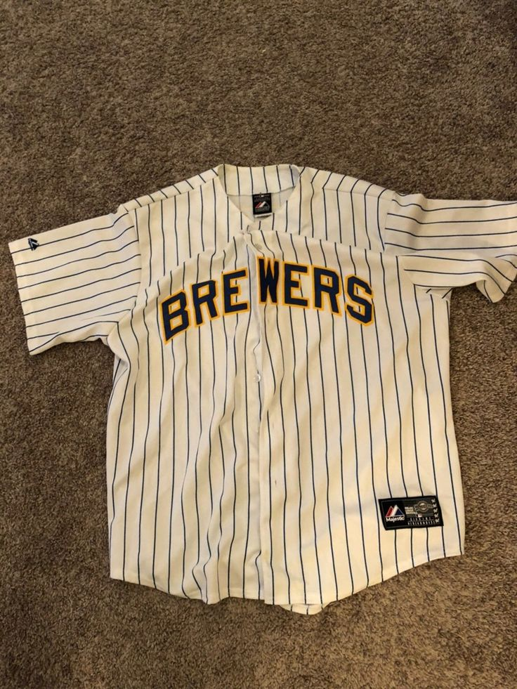 Milwaukee Brewers Jersey MLB in 2020 Milwaukee brewers