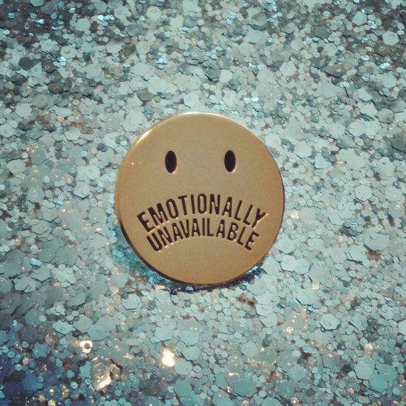 Emotional nicht verfügbar von shopshimsham auf Etsy